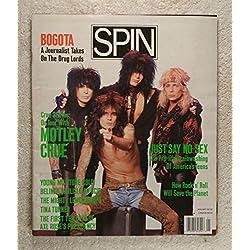 Tommy Lee, Mick Mars, Nikki Sixx & Vince Neil - On Tour with Motley Crue - Spin Magazine - January 1990 - No Address Label! - MBL2