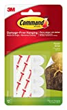 Tools & Hardware : Command Poster Hanging Strips, Small, White, 12-Strip, 6-Pack (72 Pairs Total)