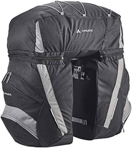 VAUDE SE Traveller Comfort II W/O Rainco Alforja, Unisex Adulto, Negro (Black/Anthracite), Talla Única: Amazon.es: Deportes y aire libre
