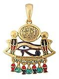 YTC Summit Egyptian Eye of Horus God Pendant Jewelry Accessory Egypt Necklace Art