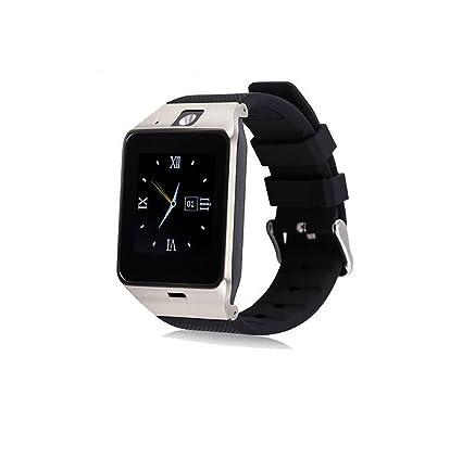 Amazon.com: GV18 Bluetooth Smart Watch phone Support Sim TF ...