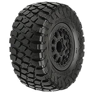 ProLine 1012313 BF Goodrich Baja T/A Kr2 M2 SC 2.2/3.0 Tires On Black Renegade Wheels for Slash/Slash 4X4