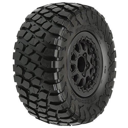 PROLINE 1012313 BF Goodrich Baja T/A Kr2 M2 SC 2.2/3.0 Tires On Black Renegade Wheels for Slash/Slash 4X4