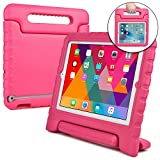 Apple iPad 2 case for kids, fits iPad 4 iPad 3 [SHOCK PROOF KIDS IPAD CASE] COOPER DYNAMO Kidproof Child iPad Cover for Girls, Boys, Toddlers   Kid Friendly Handle & Stand, Screen Protector (Pink)