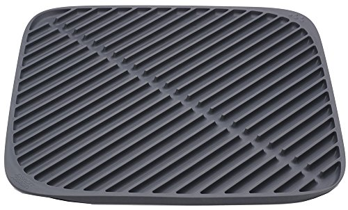 Joseph Joseph 85087 Flume Folding Draining Mat, Small, Gray