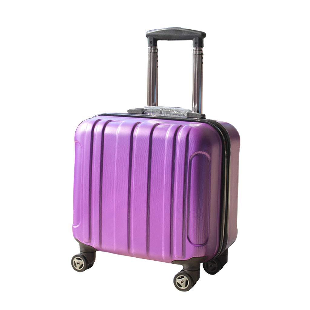 スーツケース超軽量ABSハードシェル旅行は4つのホイール、航空&詳細情報のために承認されたハードシェルトロリーサイズのアドオンキャビンハンド荷物スーツケースキャリー   B07P6HFL6T