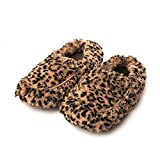 Intelex Fully Microwavable Luxury Cosy Slippers Tawny