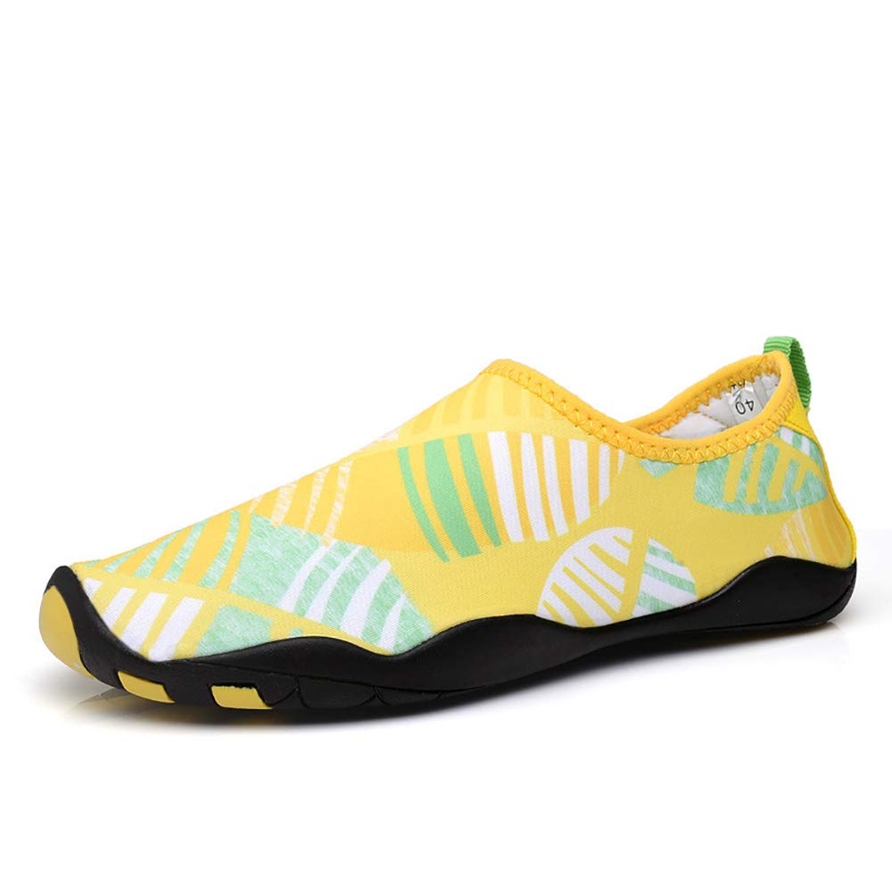Athyior Barefoot Shoes Quick Dry Men's Aqua Water Shoes Breathable Non-Slip Rubber Sole for Swimming Beach Trail Running Diving Boating Outdoor