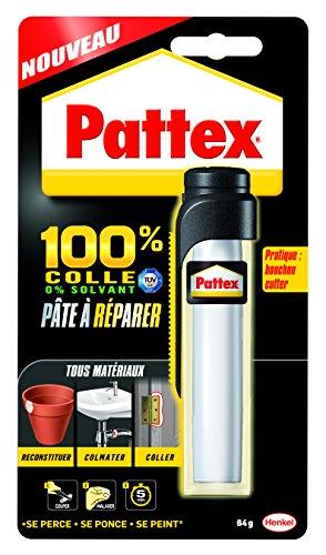 Pattex - 1875862 - Pâte à réparer - tous matériaux - 64 g