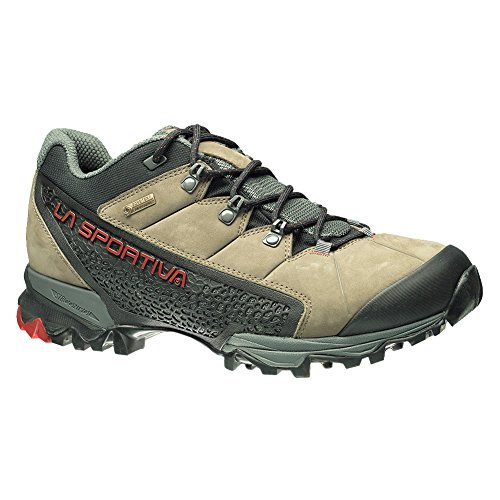 La Sportiva Men's Genesis Low GTX Waterproof Hiking Shoe, Taupe/Brick, 42 M ()