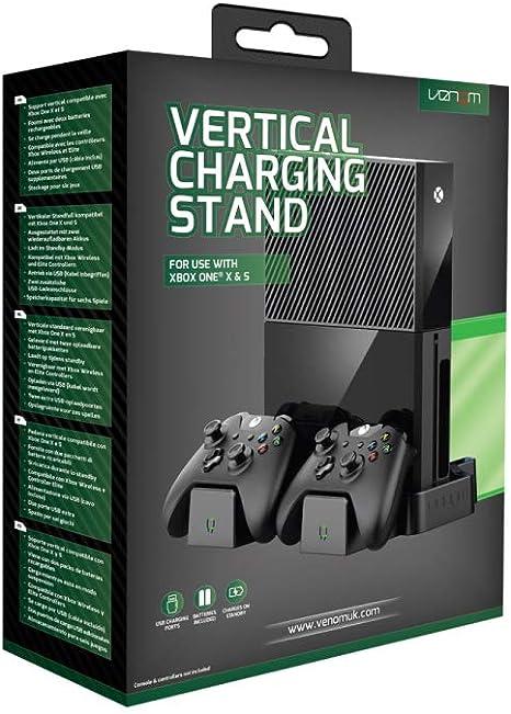 Venom Xbox One - Soporte de carga vertical para Xbox One X y Xbox ...
