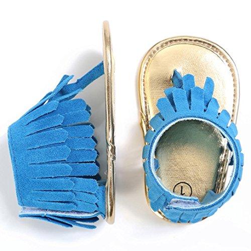 Xl-zapatos para bebé, color azul, Azul (Blu), 40