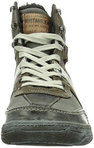 MustangSchnür-Booty - botas de caño bajo Hombre, color Gris, talla 44