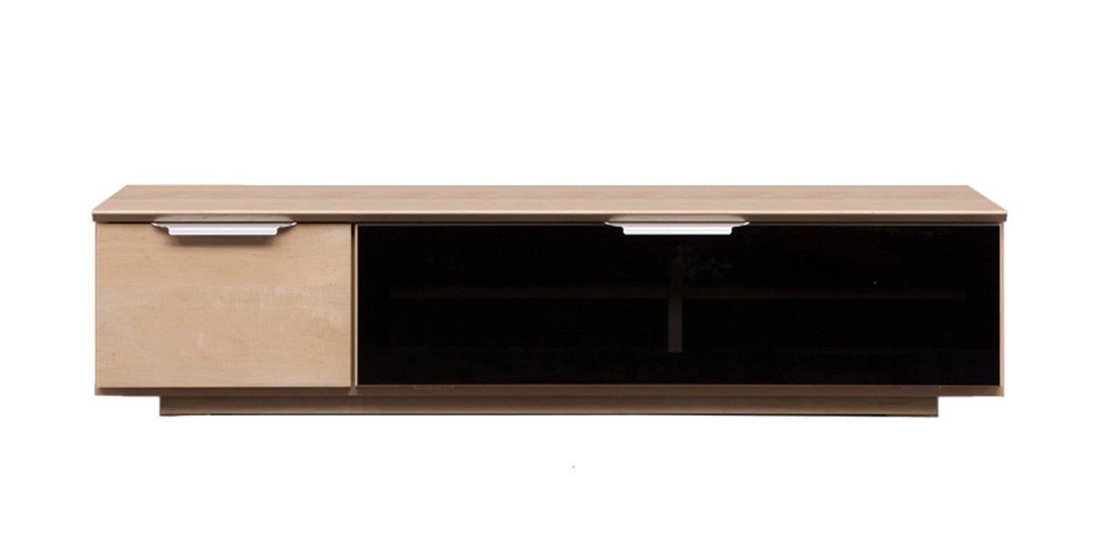 大川家具 関家具 テレビボード 幅140cm メープル CK-234273 B06XBL4HT2 幅140cm|メープル メープル 幅140cm