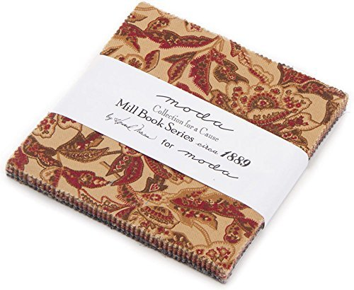 - Howard Marcus Collections for a Cause Mill Book Series Circa 1889 42 5-inch Squares Moda 46220PP