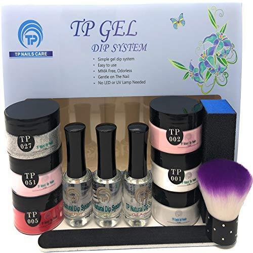 Nail Dipping Powder Starter Kit. 1 oz. per jar dip powder. Value kit (Price Of Acrylic Nails At A Salon)