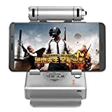 SUKEQ PUBG Fortnite Mobile FPS Battle Royale Game Bracket Controller Keyboard Mouse Adapter Converter for Android iPhone (Silver)