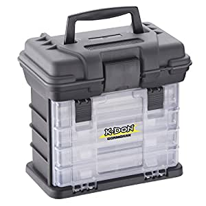 Cormoran K-DON Tackle Box Model 1005 - Caja para accesorios de pesca