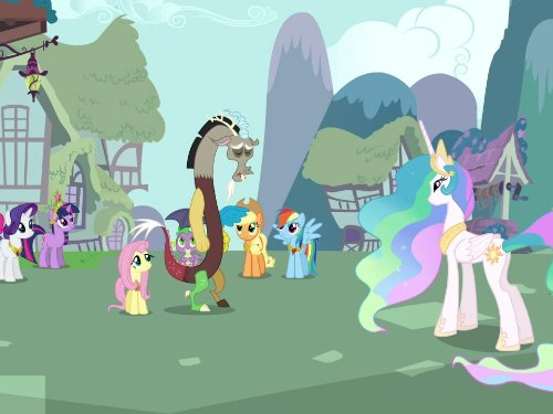 Little Pony Ponyville Sweet - Keep Calm and Flutter On