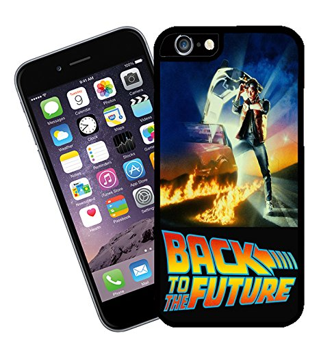 Back to the Future movie phone case - This cover will fit Apple model iPhone 6s (not 6 plus) - By Eclipse Gift Ideas