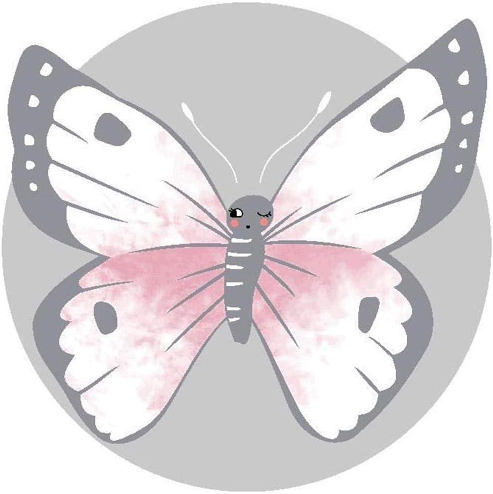 luminiu Tapis De B/éb/é Tapis Pliable Coussin Jeu pour B/éb/é Non Toxique Tapis Imperm/éable pour B/éb/é Tapis Et D/éveil Antid/érapant pour Enfants Papillon Mold pour Fille Gar/çon