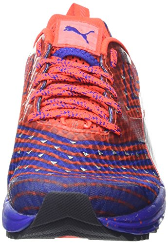 Puma Women's Speed 300 Ignite Tr Fitness Shoes Blue (Blue/Red/Silver 01) GdeMT