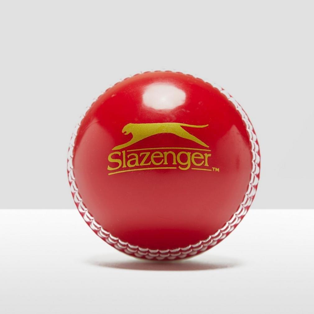 Slazenger Training balle de cricket Blanc/Rouge Taille Unique 8845.54422