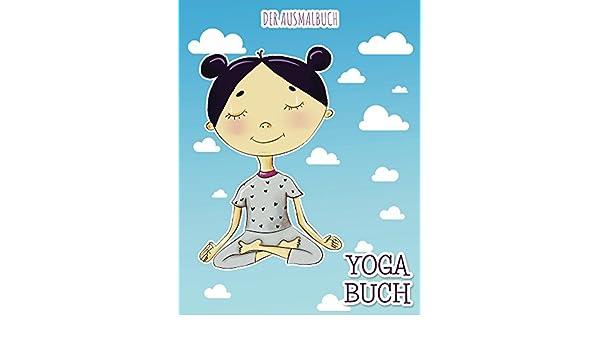 YOGA Buch: Der Ausmalbuch (German Edition) eBook: Holz Books ...
