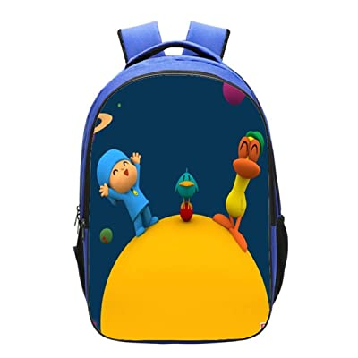 GD-Clothes Kids Pocoyo Backpack-Girls Back to School Bookbag School Backpack-Backpacks for Outdoor, Travel, School | Kids' Backpacks