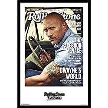 "Trends International Rolling Stone-Dwayne Johnson 18 Wall Poster, 24.25"" x 35.75"", Multi"