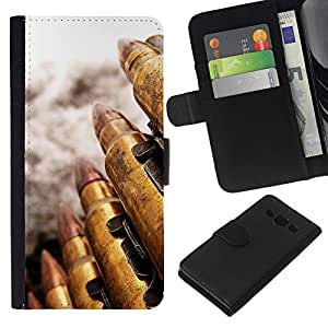 Stuss Case / Funda Carcasa PU de Cuero - Bullet - Samsung Galaxy A3