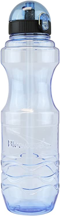 500ml Blue White Hard Plastic Water Bottle Details about  /Oneday