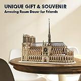 CubicFun 3D Puzzle for Adults Moveable Notre Dame
