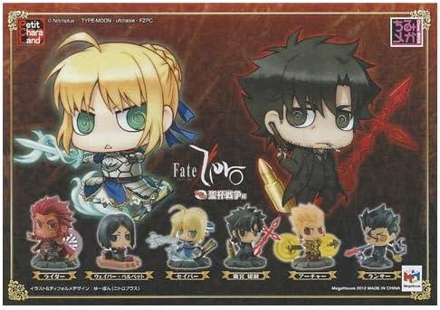 Amazon Co Jp Fate Zero ちみっと聖杯戦争編 イラストカード ぷちきゃらランド Fate Zero ちみっと聖杯戦争編 Box特典 ホビー