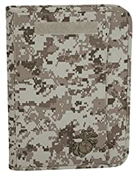 Marpat Digital Desert USMC Zippered Padfolio
