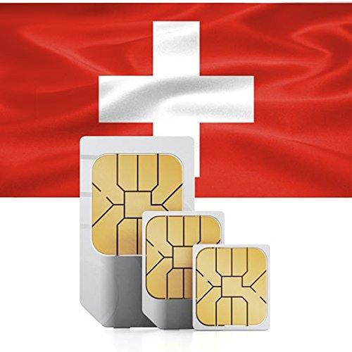 Prepaid Daten Sim Karte Fur Die Schweiz 2 Gb Fur 30 Tage