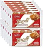 Biscoff Snack Pack Case (12 Count of 8 Twin Packs, 192 Cookies Total)