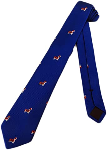 Crew Crewcuts Spaniel Puppy Dog Boys Necktie Cocker Silk Royal Neck Tie J