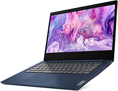Lenovo Ideapad 3 14 14″ FHD Laptop Computer_ AMD Ryzen 5 3500U Quad-Core Up to 3.7GHz (Beats I7-7500U)_ 12GB DDR4 RAM, 256GB PCIe SSD_ Online Class Ready_ Blue_ Windows 10_ BROAGE 64GB Flash Drive