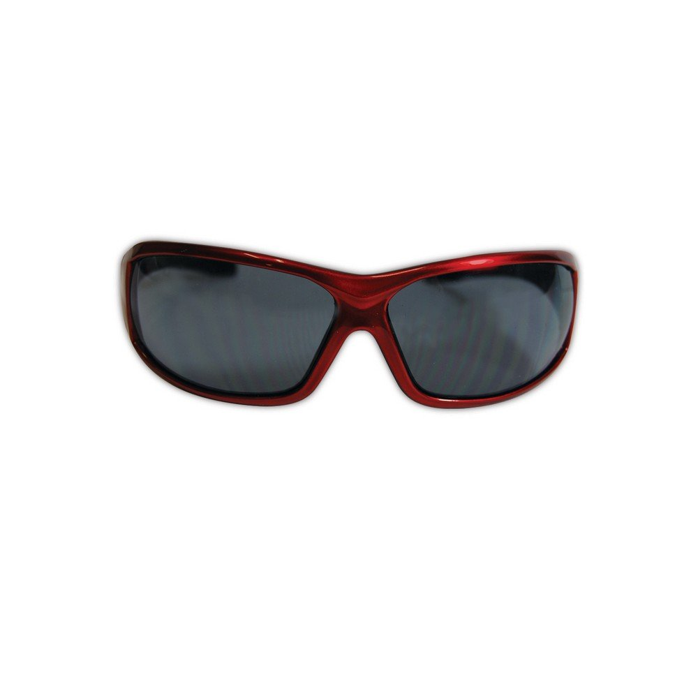 One Pair Magid Y90 Gemstone Onyx Protective Eyewear with Red Outside Black Inside Frame and Indoor//Outdoor Lens Magid Glove /& Safety Y90RBAFIO