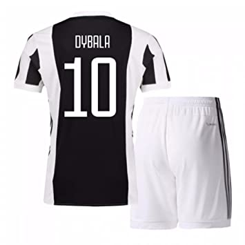 8798d8689 UKSoccershop 2017-18 Juventus Home Mini Kit (Paulo Dybala 10):  Amazon.co.uk: Sports & Outdoors