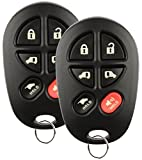 remote control toyota - Discount Keyless Replacement Hatch Van Doors Key Fob Car Entry Remote For Toyota Sienna GQ43VT20T (2 Pack)