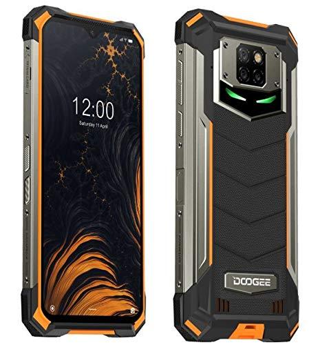 DOOGEE S88 Plus (8 GB + 128 GB) 10000 mAh batterij outdoor smartphone zonder contract, 48 MP quad-camera, Octa-Core…