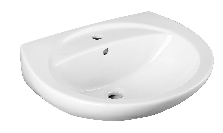 Cornat Waschtisch EMOTION moosgr/ün WTBD816015 Badkeramik Handwaschbecken Waschbecken Badezimmer