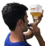 Q-bong Beer Bong - World's First Pressurized Beer Bong Funnel with easy to use valve - compact & explosive - Ideal for college drinking games, bachelor parties, gag gifts and stocking stuffer