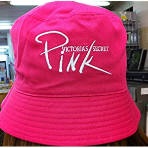 Victoria Secret Pink Sun Hat New! Reversible One Size Fits All -