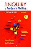 img - for From Inquiry to Academic Writing: A Text and Reader, 2016 MLA Update Edition book / textbook / text book