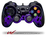 HEX Purple - Decal Style Skin fits Logitech F310 Gamepad Controller (CONTROLLER SOLD SEPARATELY)