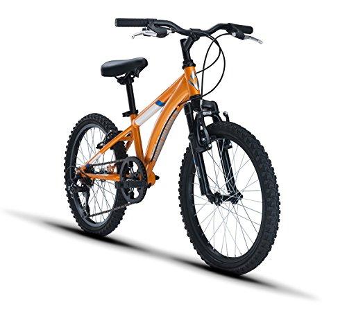 "518sP6a2fqL - Diamondback Bicycles Cobra 20 Youth 20"" Wheel Mountain Bike, Orange"