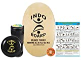 INDO BOARD Original Training Package Balance Board- Includes 30